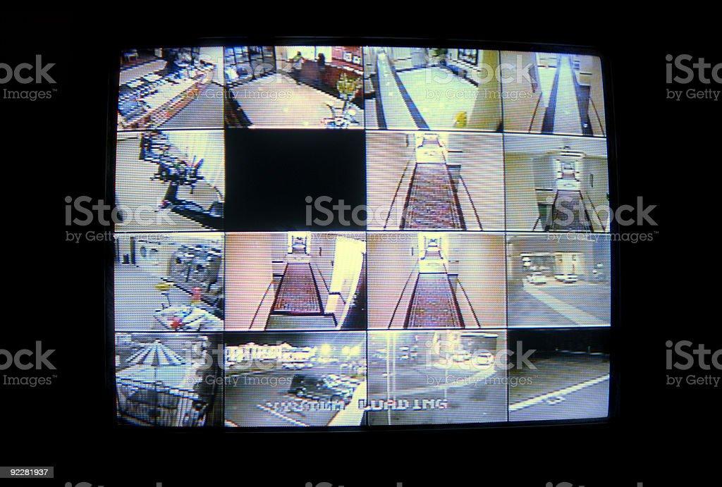 Hotel Security Cameras stock photo