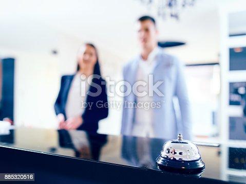 istock Hotel Service Bell 885320516