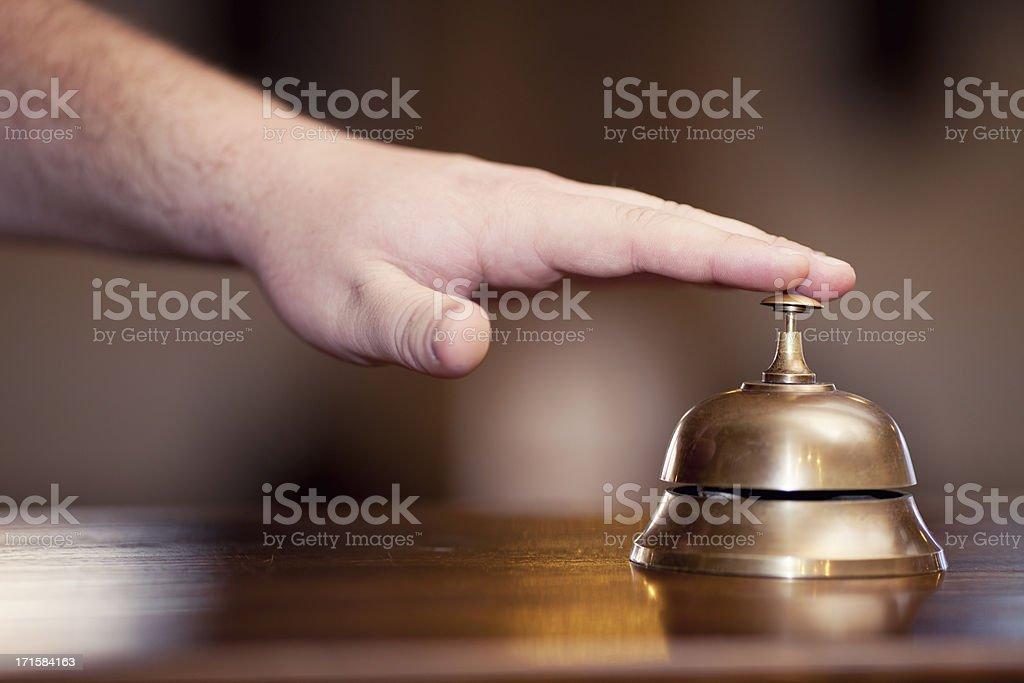 Hotel service royalty-free stock photo