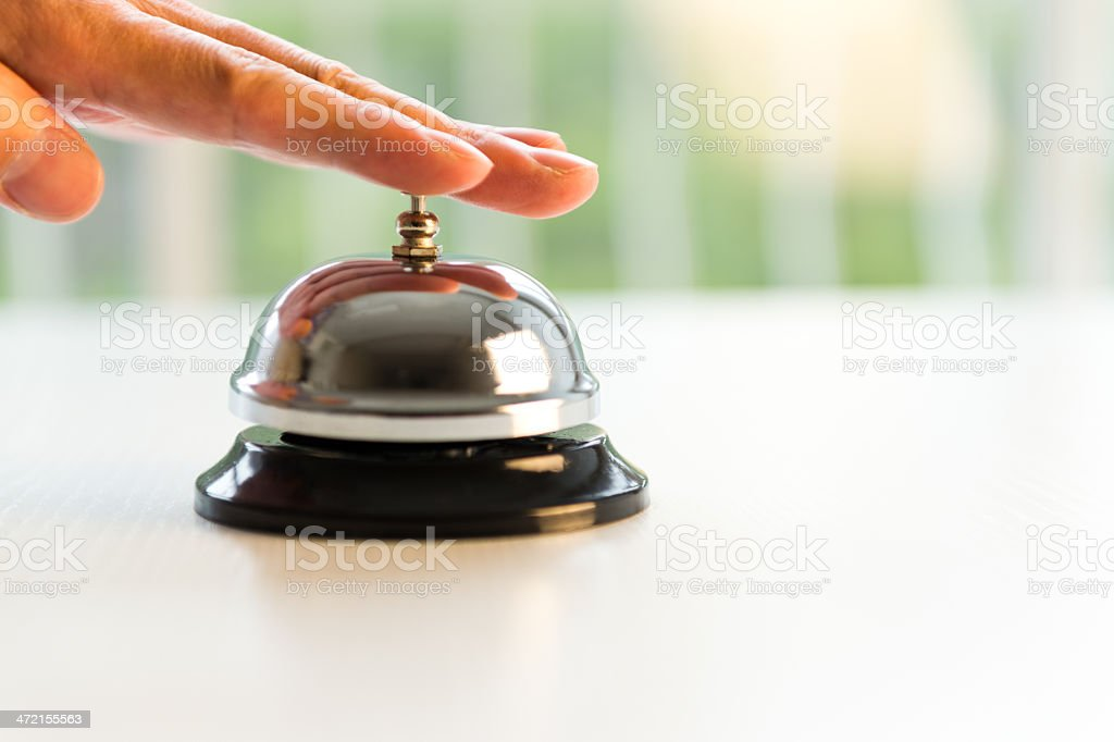 hotel service stock photo