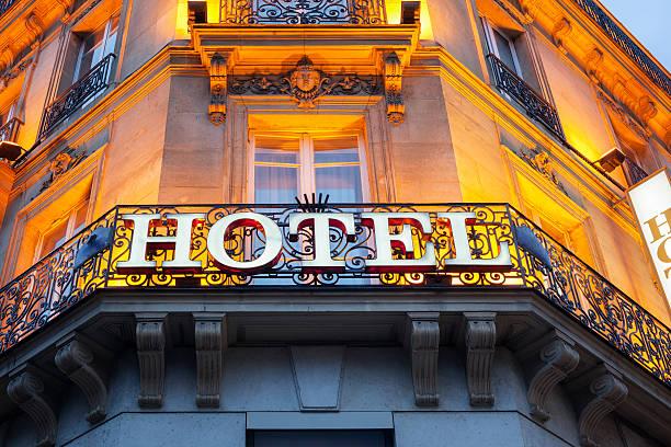 hotel znak - motel zdjęcia i obrazy z banku zdjęć