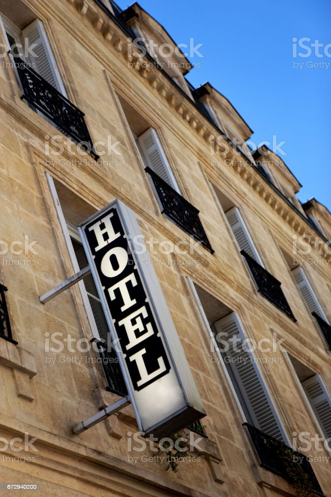 Hotel sign - Photo