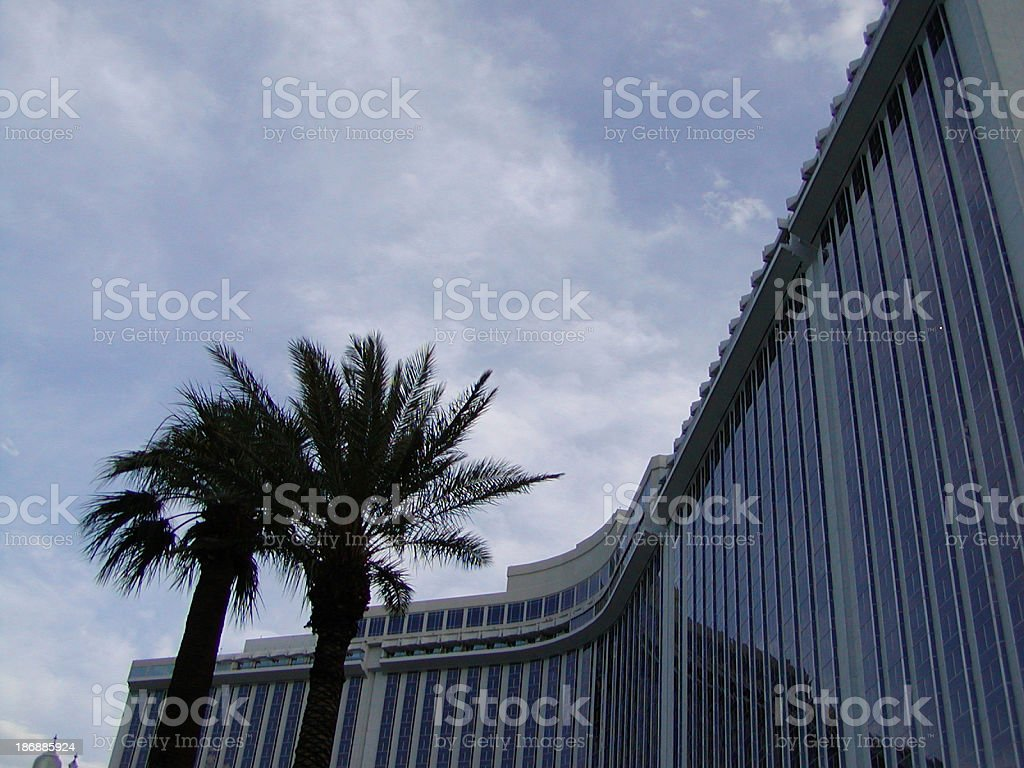 hotel silhouette royalty-free stock photo