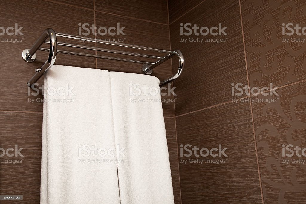 Hotel Towel royalty-free stock photo
