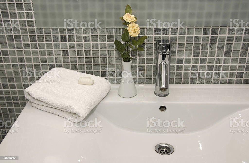 Hotel Towels & Bathroom stock photo