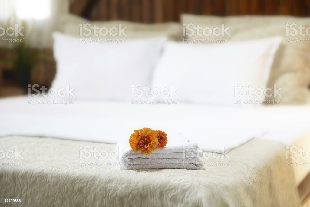 hotel towels luxury hotel towels Abstract Stock Photo