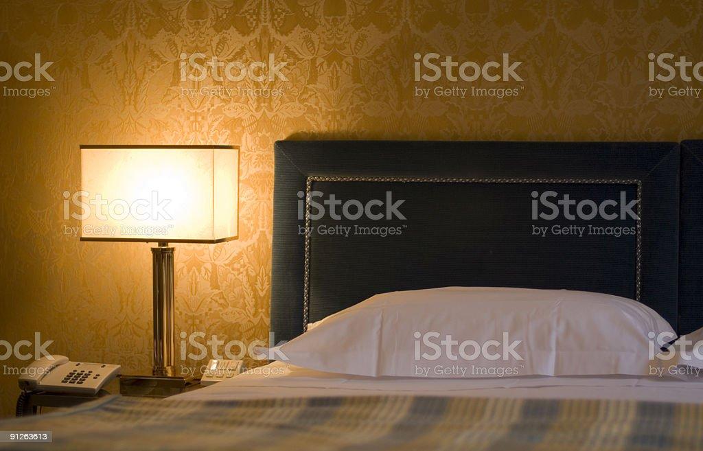 Hotelbed stock photo