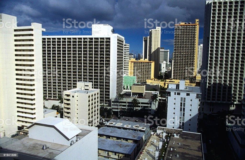 Hotels stock photo