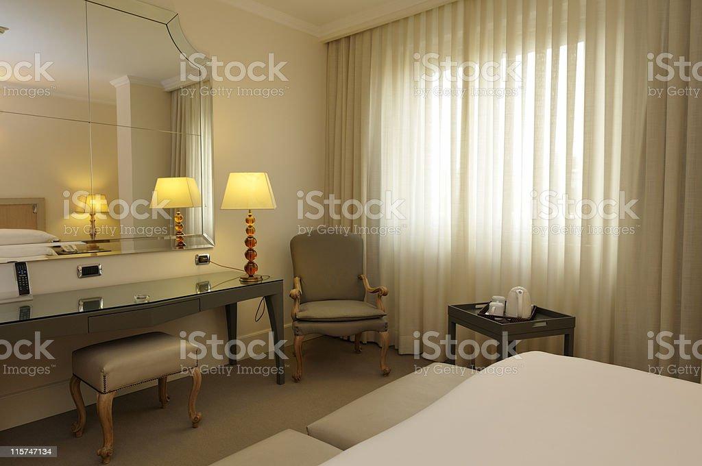 Hotel's Room royalty-free stock photo