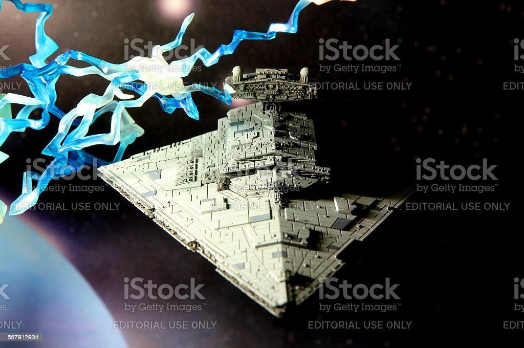 Hoth Orbit stock photo