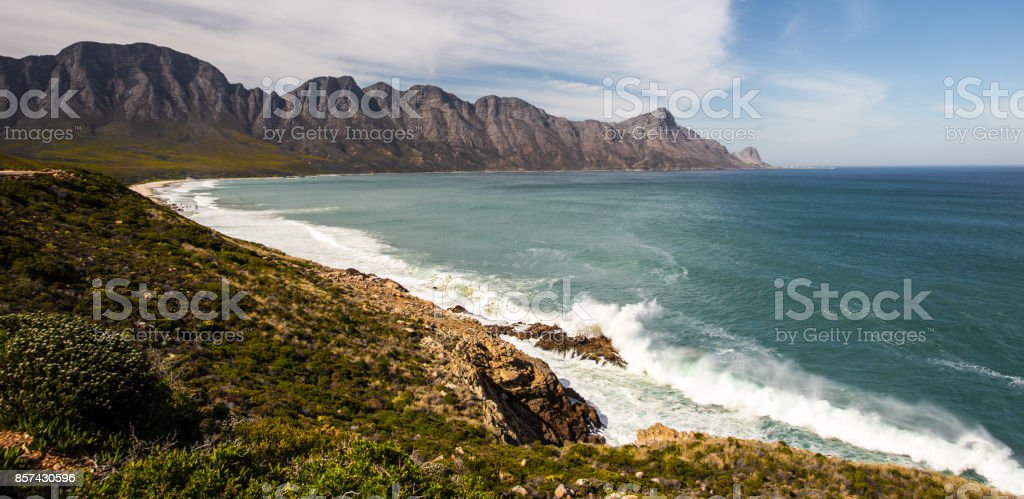 Hottentot Mountains stock photo