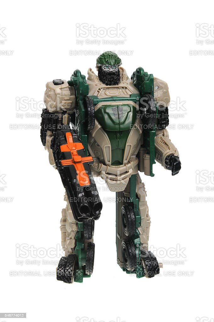 Hound Autobot Transformers Action Figure stock photo
