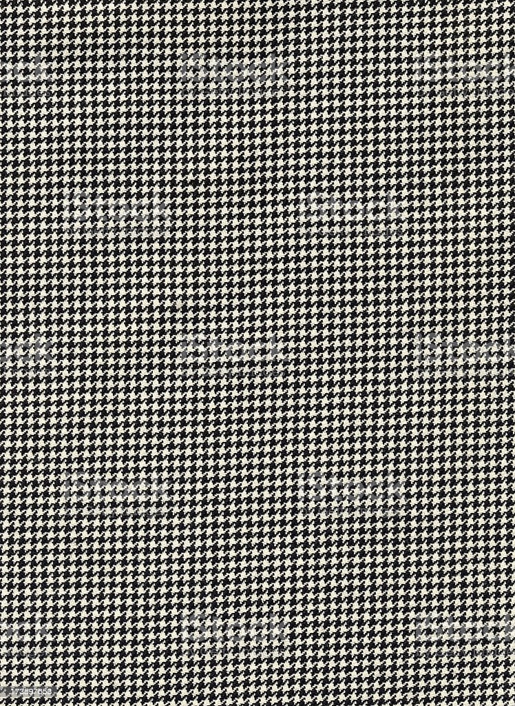 Houndstooth Cloth Background royalty-free stock photo
