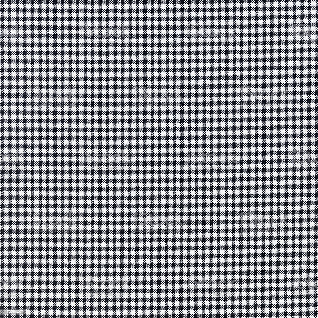 Houndstooth Cloth royalty-free stock photo
