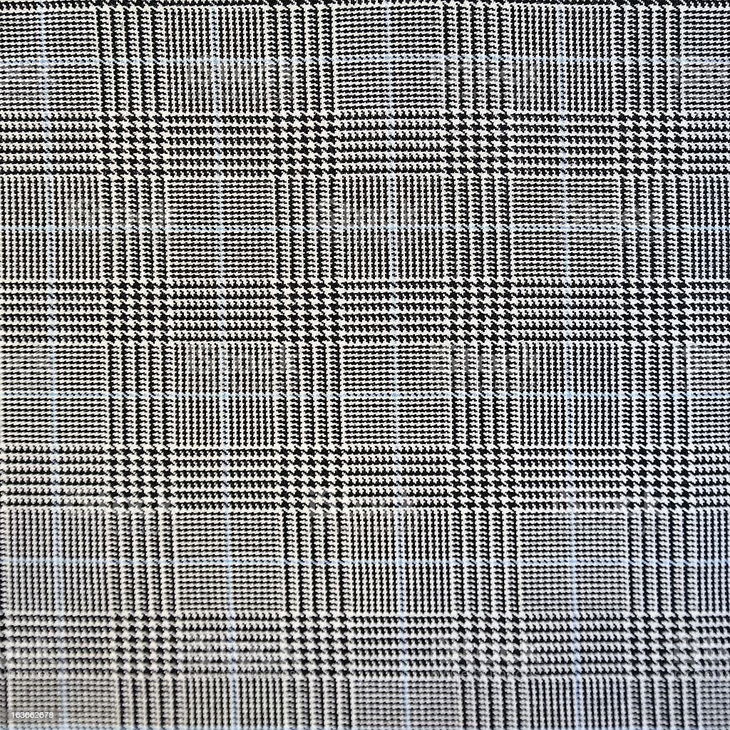 Houndstooth seamless fabric pattern stock photo