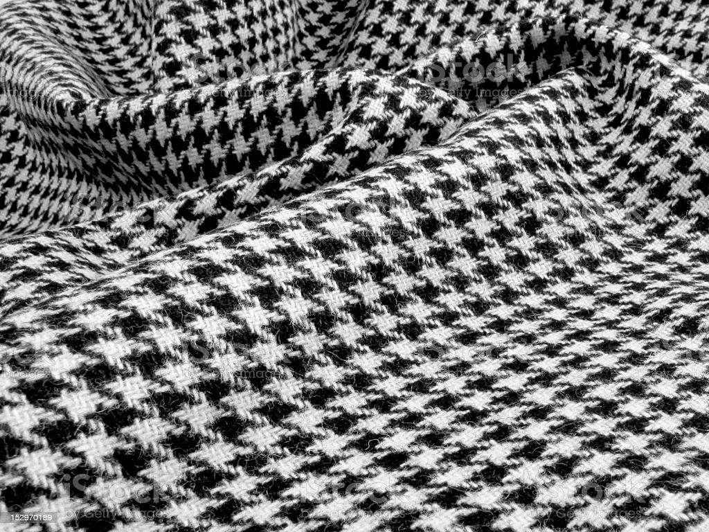 Houndstooth swirl stock photo