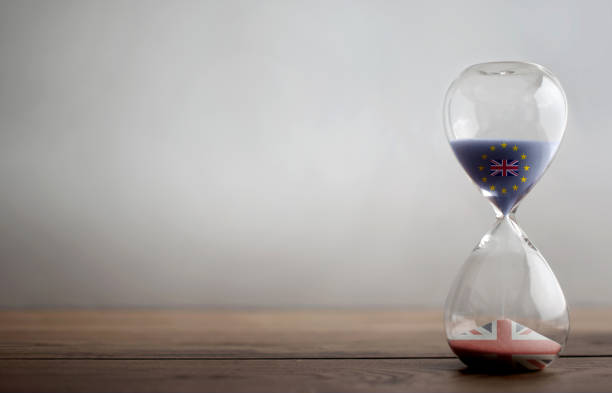 Hourglass background - foto stock