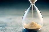 istock Hourglass flow 841445186