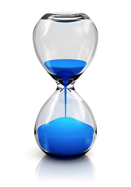 hourglass - zandloper icoon stockfoto's en -beelden