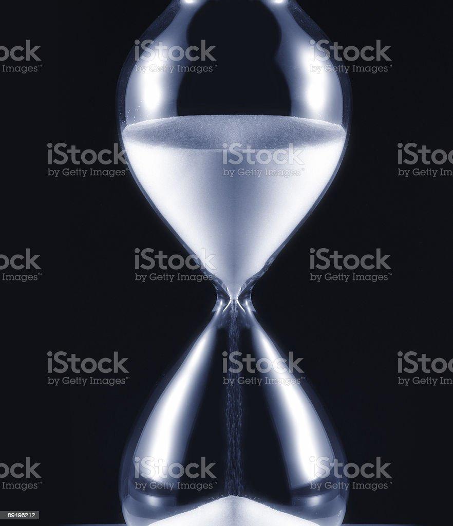 hourglass royaltyfri bildbanksbilder