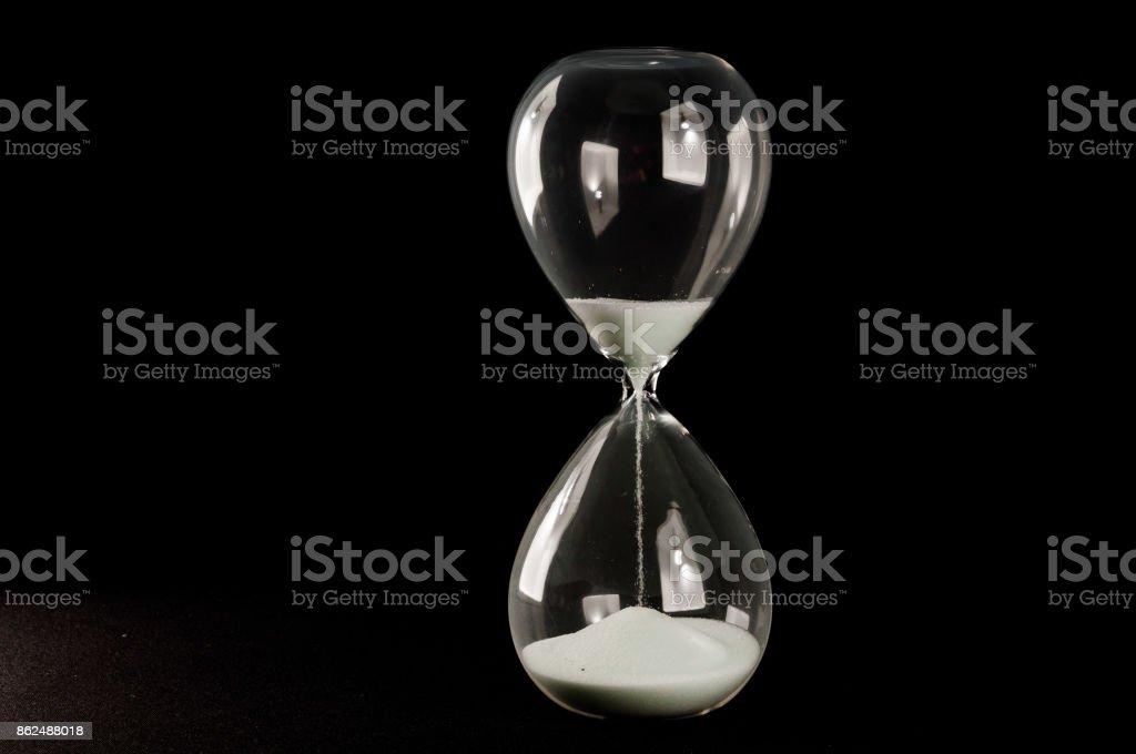 Hourglass Sandglass stock photo