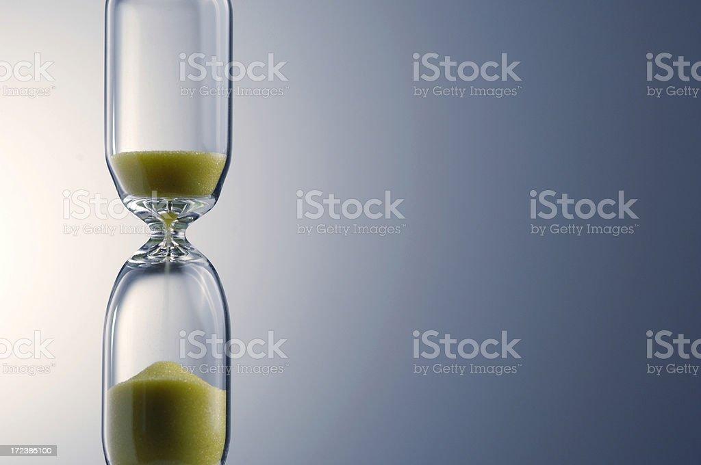 hourglass series royalty-free stock photo