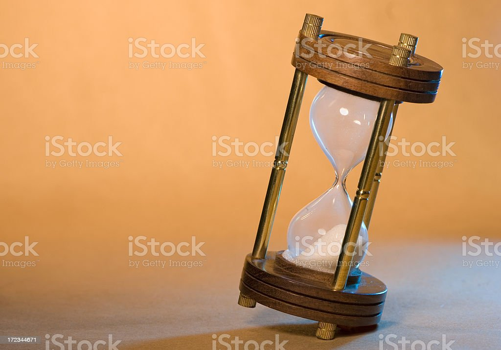 Hourglass Timer royalty-free stock photo