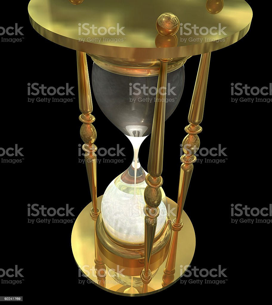 Hourglass2 royalty-free stock photo