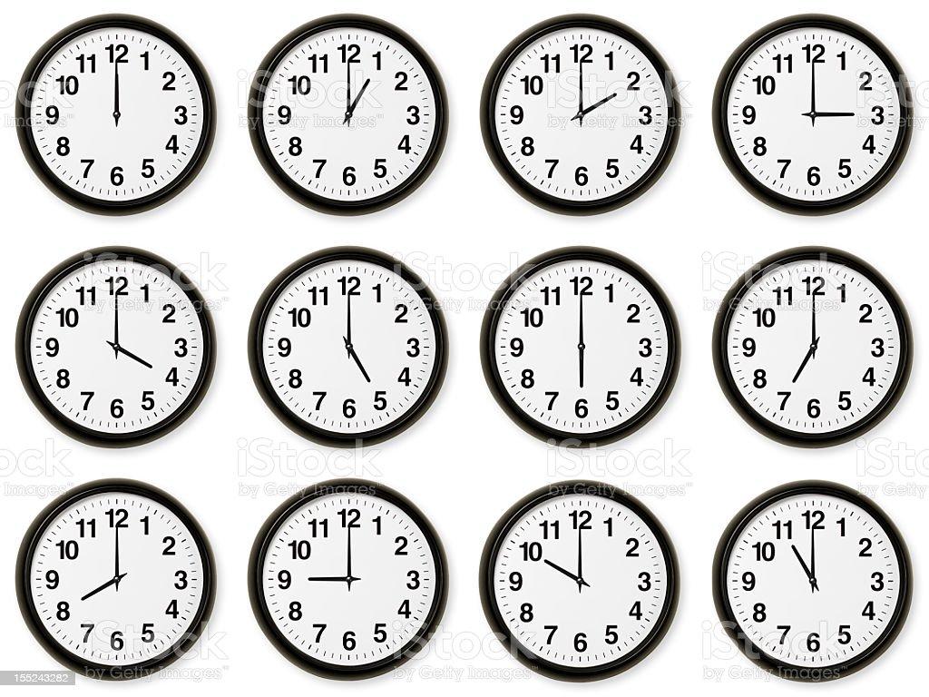 Hours stock photo