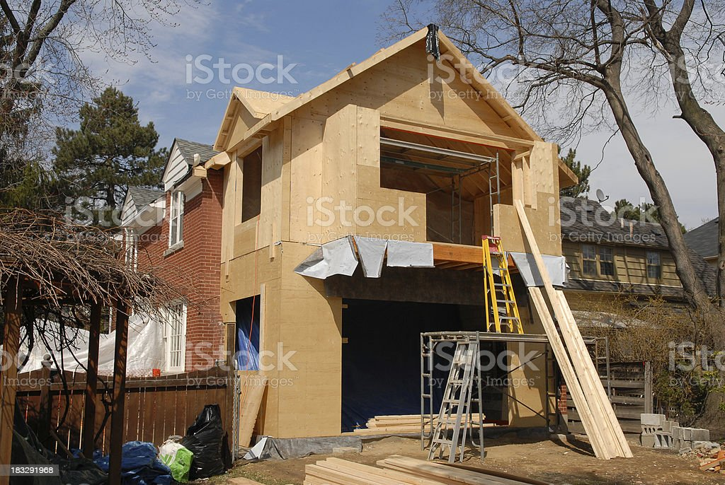 house additions 5 stock photo