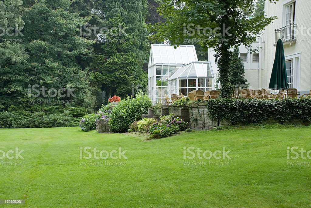 House and Garden royalty-free stock photo