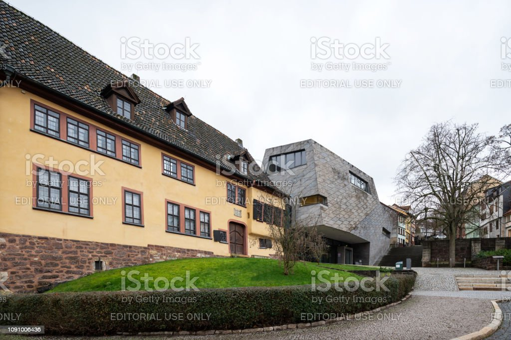 House and museum of Johann Sebastian Bach in Eisenach, Germany stock photo