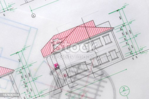 istock House and Real Estate Blueprint 157630104