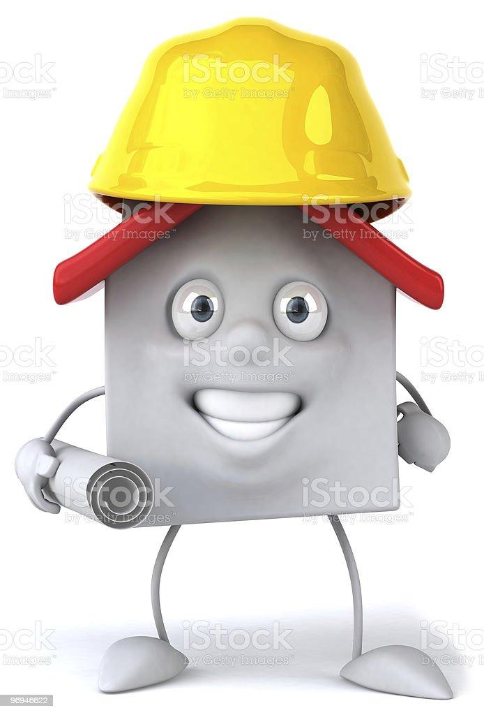 House architect royalty-free stock photo