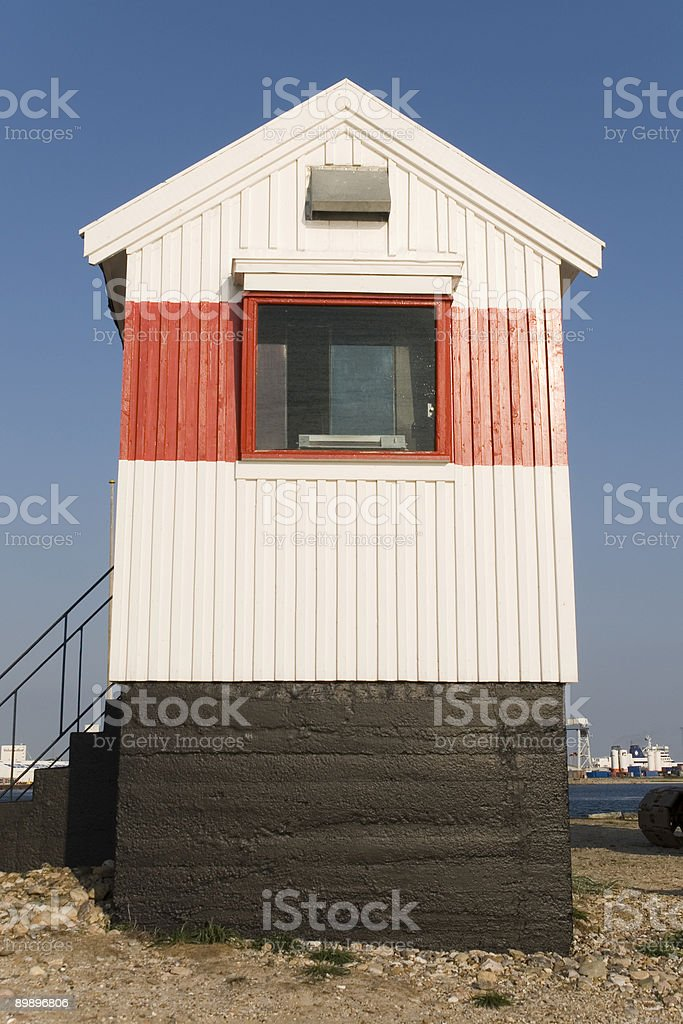 House at habor royalty-free stock photo
