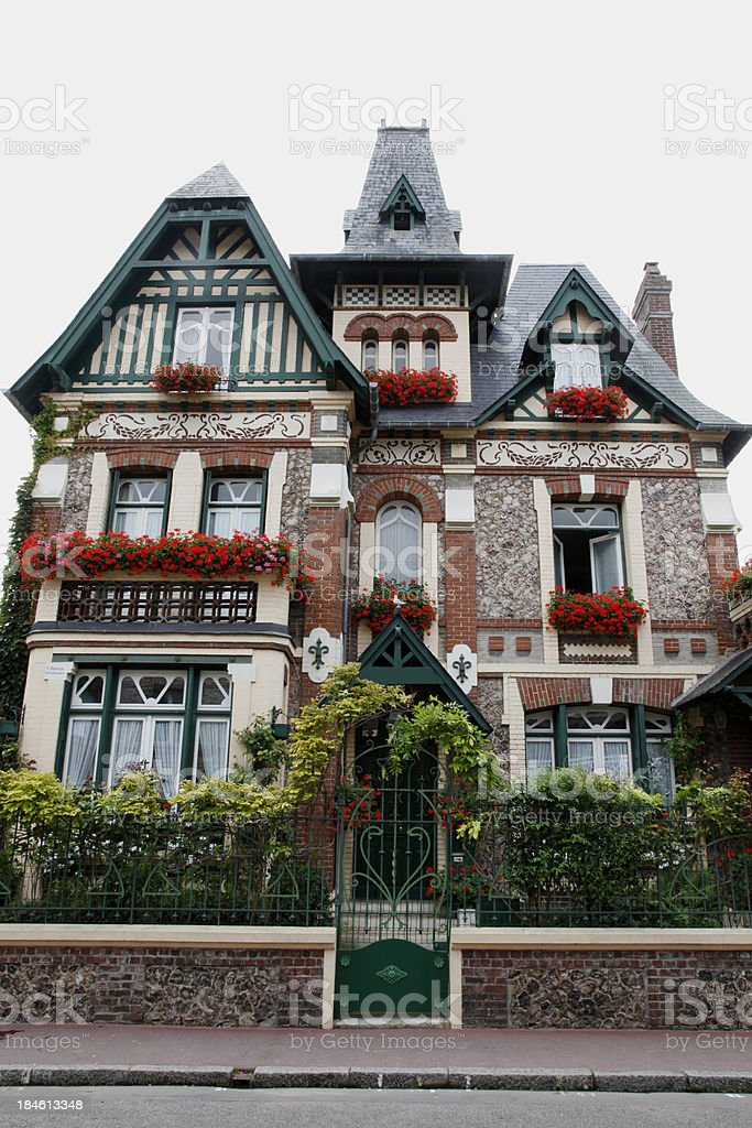 House at Normandy royalty-free stock photo