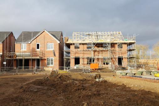 UK building site