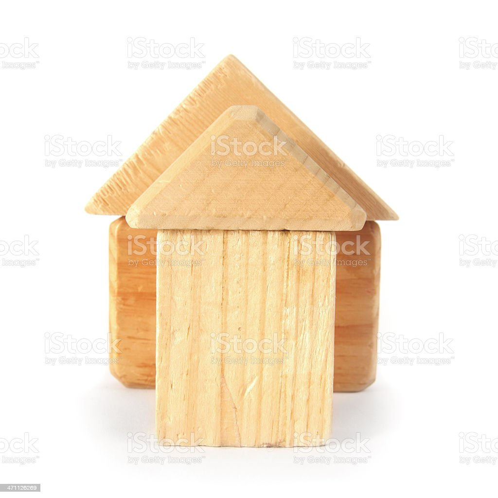 House Blocks royalty-free stock photo