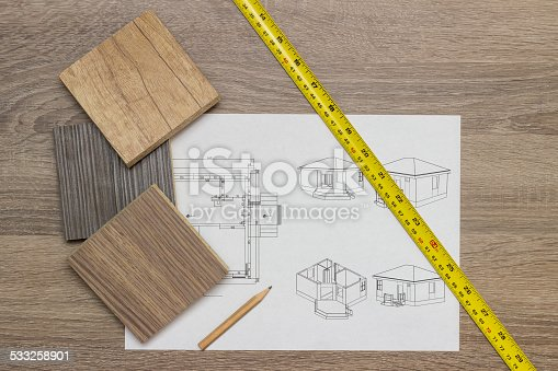 623909418 istock photo House Blueprint 533258901