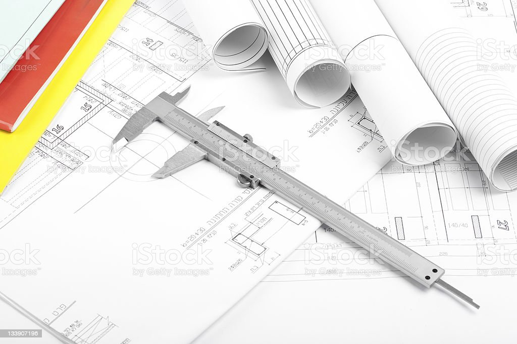 House blueprints stock photo 133907196 istock blueprint construction industry document industry ink malvernweather Image collections