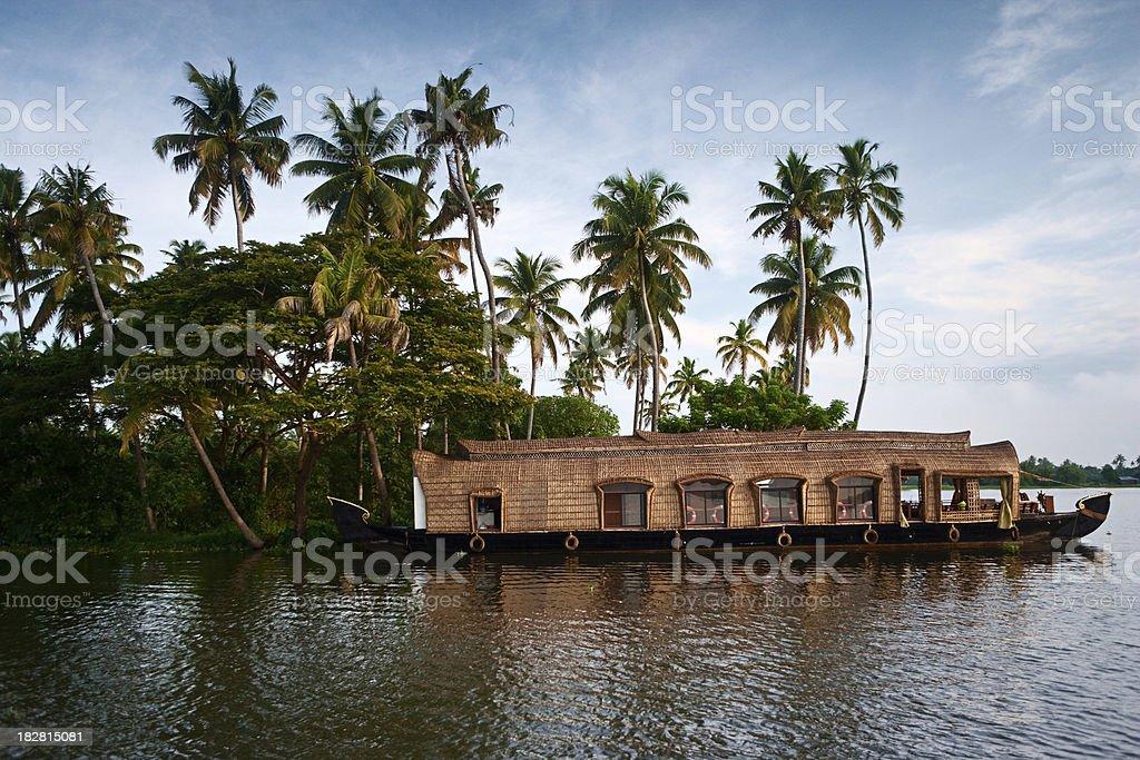 House boat royalty-free stock photo