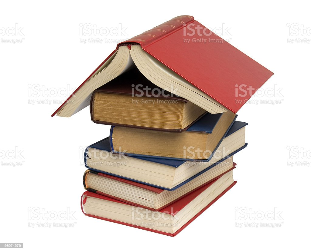 House Books royalty-free stock photo