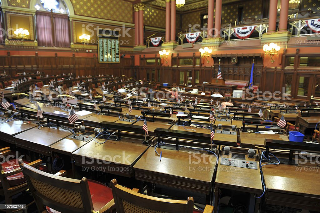 House Chamber stock photo