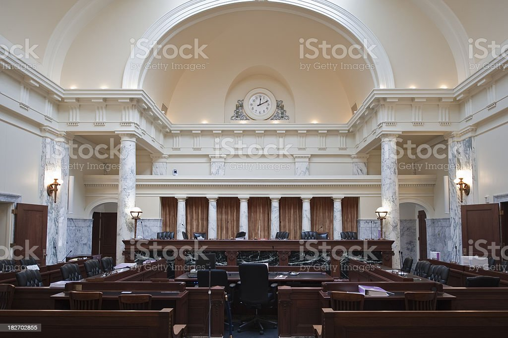 House Chambers stock photo