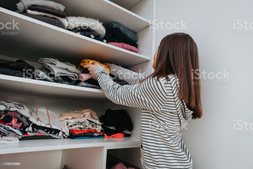 House Chores and Responsibilities stock photo