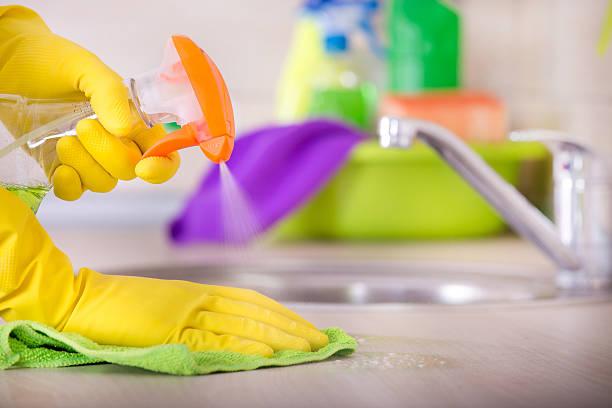 Haus Reinigung-Konzept – Foto