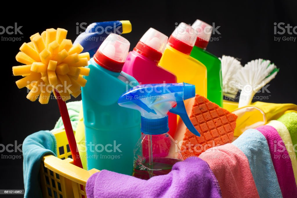 House cleaning concept royalty-free stock photo