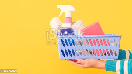 istock house cleanup cleaning set hand supplies basket 1130100500
