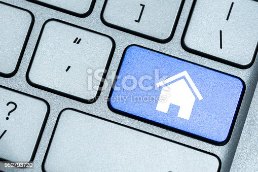 istock house concept on keyboard 952793720