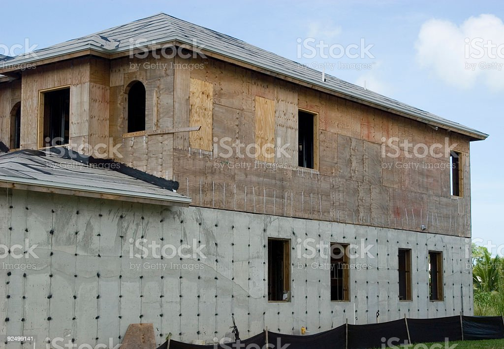 House Construction 1 royalty-free stock photo